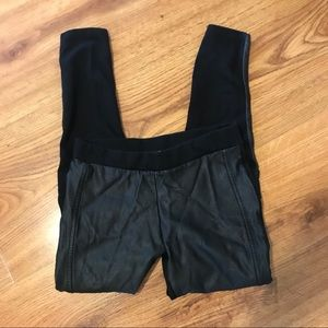 (3 for $20) Zara Faux Leather Skinny Leggings